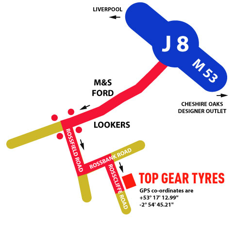 Find Top Gear Tyres Wrexham